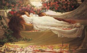 Sleeping-Beauty-dipinto-di-J.W.-Watherhouse (1)